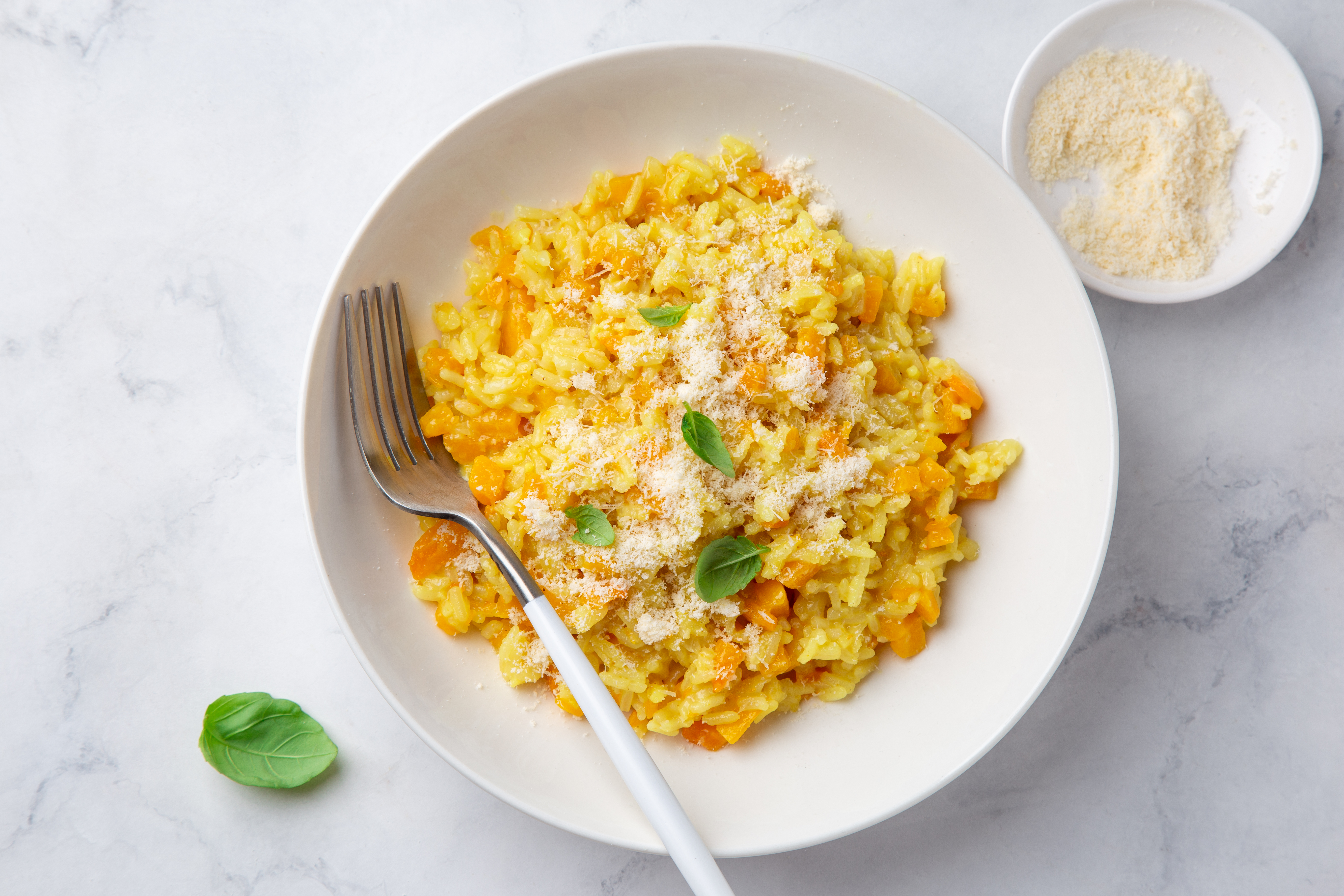 Easy Slow Cooker Butternut Squash Risotto