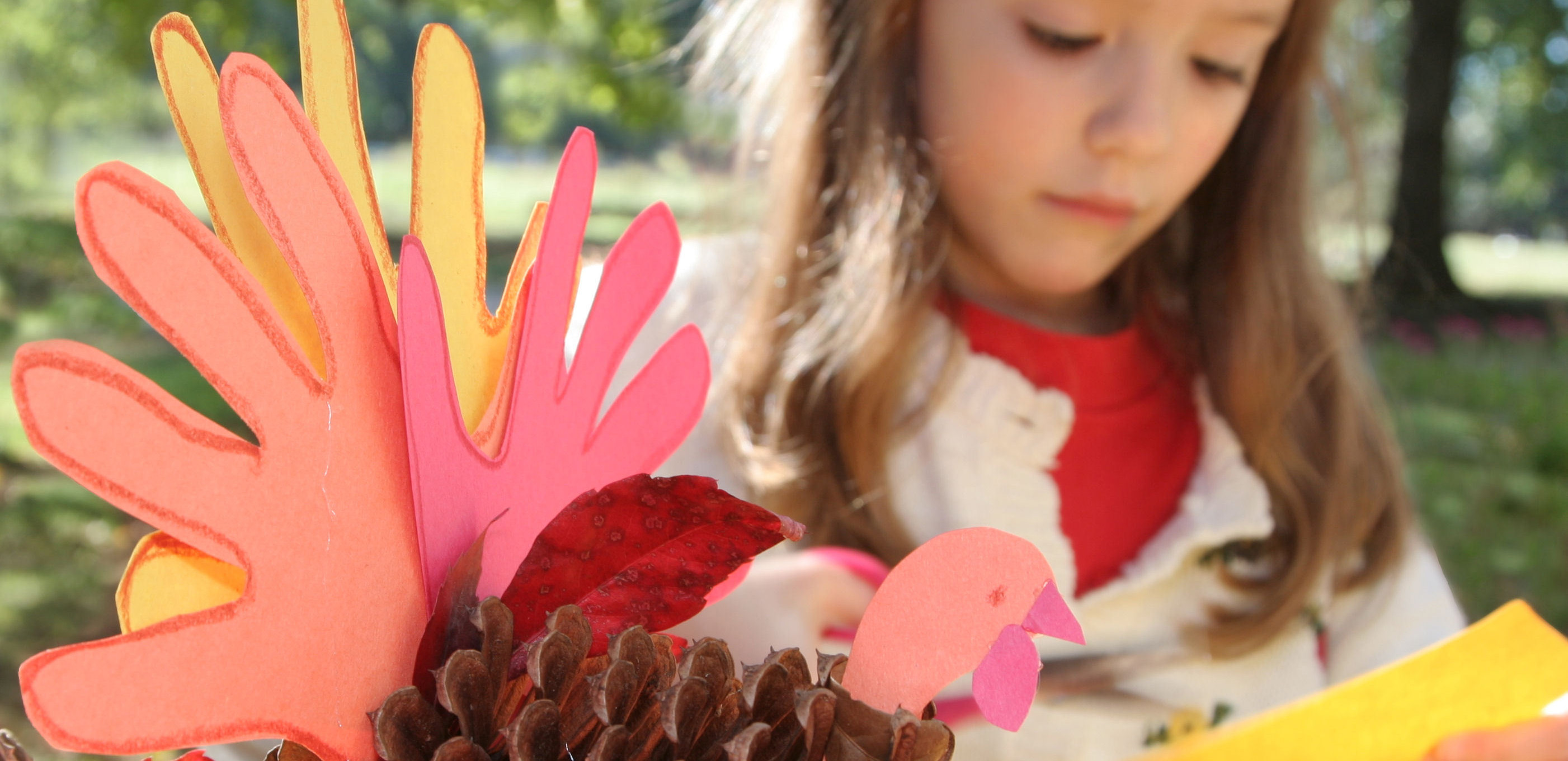 Fall activities - Hand Turkey